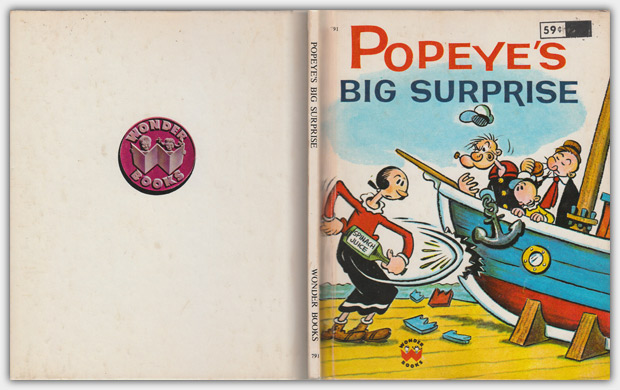 791 - Popeye's Big Surprise