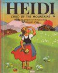 Wonder Book 532 : Heidi - Child of the Mountains