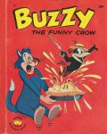 Wonder Book 821 : Buzzy the Funny Crow